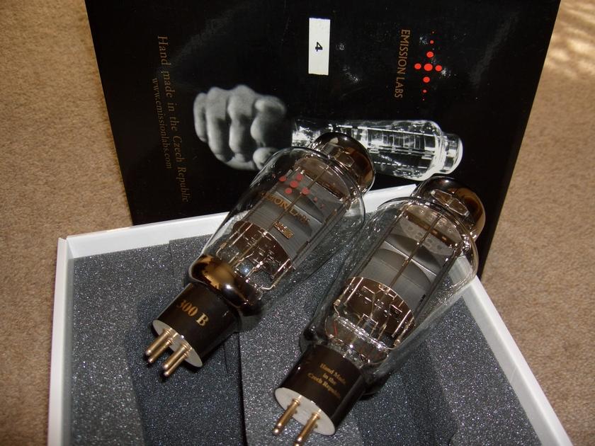 Emission Labs (EML) 300 B, 300B, Premium tube pair