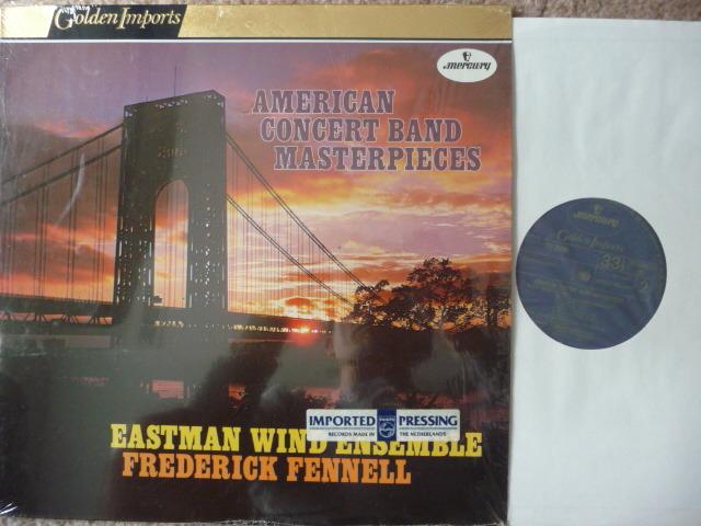 AMERICAN CONCERT BAND - MASTERPIECES  Mercury GOLDEN IMPORTS LP