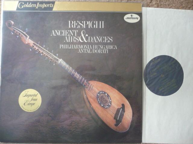 RESPIGHI  - AIRS & DANCES  Mercury GOLDEN IMPORTS LP