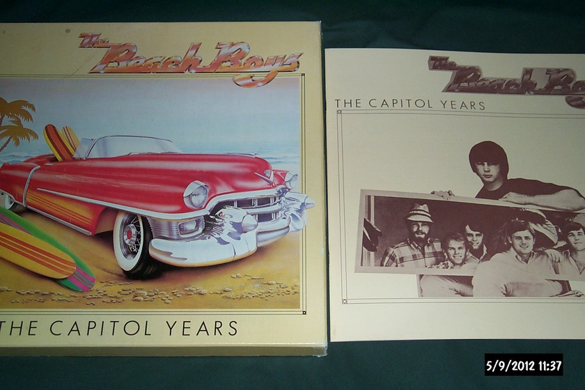 Beach boys - UK 7 Lp Box set the capitol years