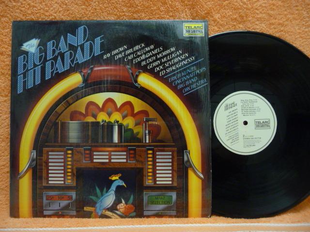 BIG BAND HIT PARADE  - TELARC RARE WHITE LABEL LP EXCEL audiophile