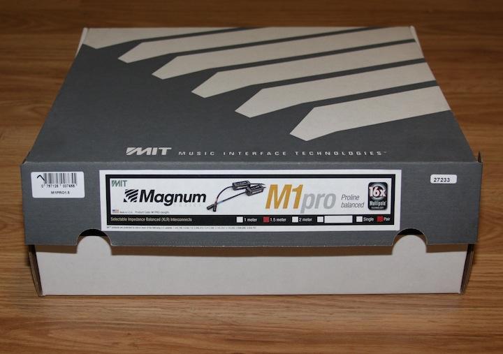 MIT Magnum M1 Proline 1.5 meter XLR interconnects