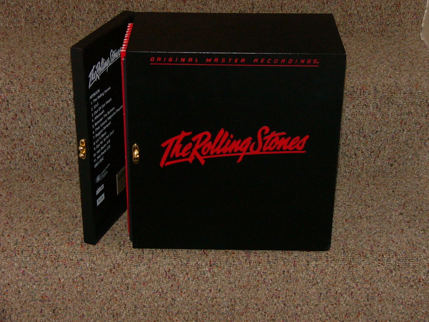MFSL Rolling Stones Box Set #3610 - Stunning, mint LP's, most unplayed, others played once to record to tape Complete with booklet, envelope and papers