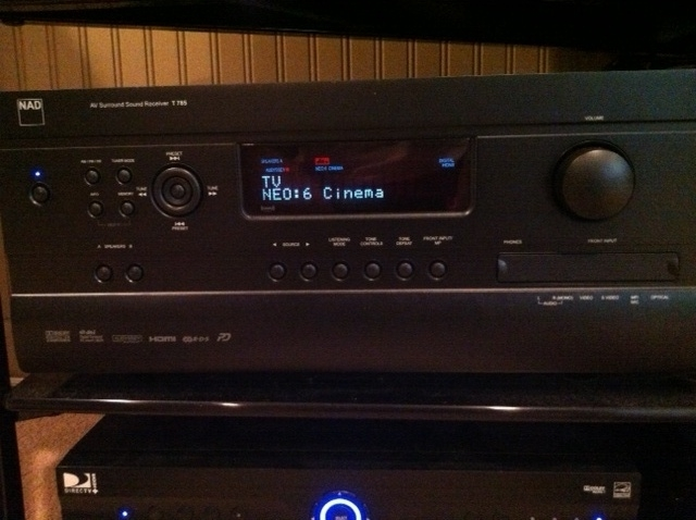 NAD T-785 A/V Receiver w/ FREE Wadia T170 iPod Transport!!