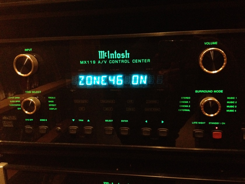 McIntosh MX119 audio video processor