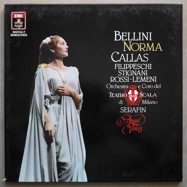 EMI Digital   CALLAS/SERAFIN/BELLINI - Norma / 2-LP / NM
