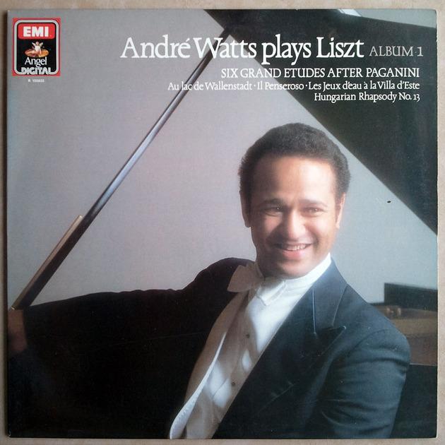 EMI Digital | WATTS/LISZT - Six Grand Etudes after Paganini, Hungarian Rhapsody No. 13 ... / NM
