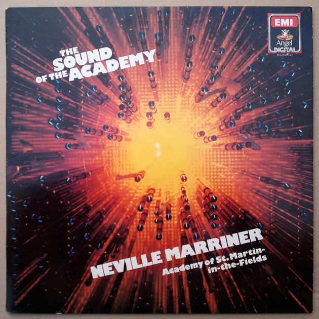 EMI Digital   NEVILLE MARRINER - - The Sound of The Academy / NM