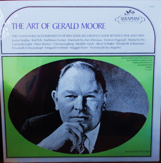 FACTORY SEALED ~ THE ART OF GERALD MOORE - BETWEEN 1936-1960 SERAPHIM 60044 (1966)