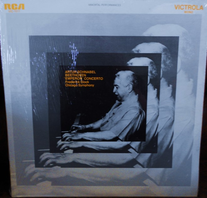 FACTORY SEALED ~ ARTUR SCHNABEL ~ CHICAGO SYMPHONY ~  - BEETHOVEN ~CONCERTO NO 4 ~ RECORDED 1955 ~ RCA VIC 1505 (1970)