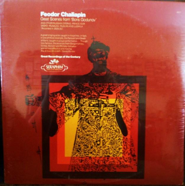 FACTORY SEALED ~ FEODOR CHALIAPIN ~  - GREAT SCENES FROM BORIS GODUNOV ~ SERAPHIM 60211 (1966)