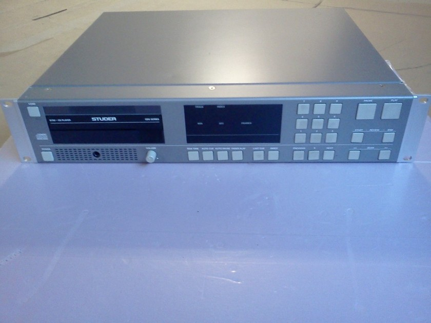 Studer D-732 Professional CD Player from Switzerland in Great Condition