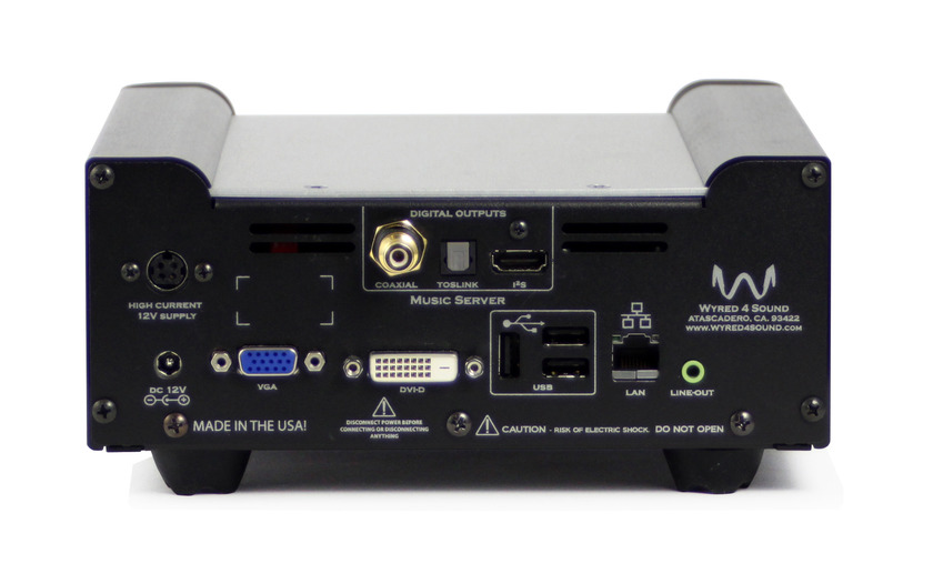 Wyred 4 Sound Music Server MS-2 24 bit/ 192 kHz streaming solution