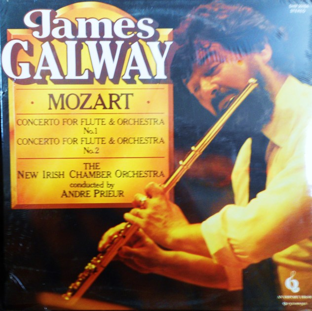 FACTORY SEALED ~ JAMES GALWAY ~  - MOZART FOR FLUTE NO 1 & 2 ~  QUINTESSENCE SHM 3010A (1973)