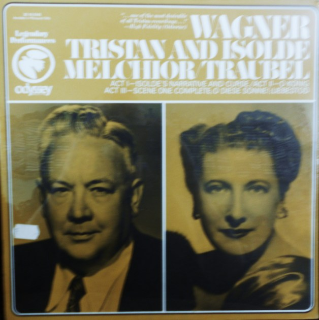 FACTORY SEALED ~  - WAGNER~TRISTAN & ISOLDE~MELCHIOR~TRAUBEL ODYSSEY 32 16 0145 (1967)