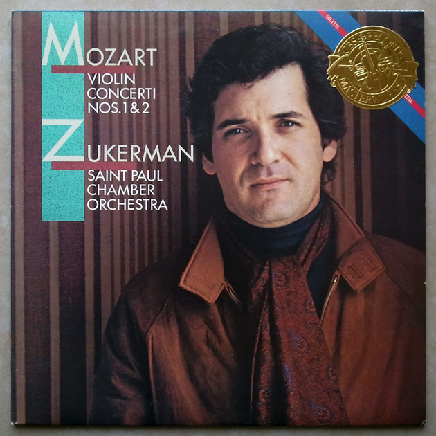 CBS Digital | ZUKERMAN/MOZART - Violin Concertos Nos. 1 & 2 / NM