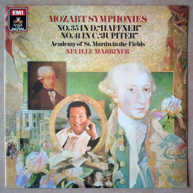 Sealed EMI Digital   MARRINER/MOZART - Symphonies Nos. 35 & 41