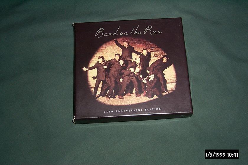 Paul Mccartney/Wings - Band On The Run 2 disc set nm