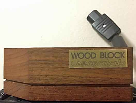 Versalab Wood Block lightly used