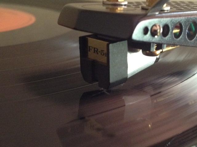 Fidelity Research FR-5E top vintage MM cartridge