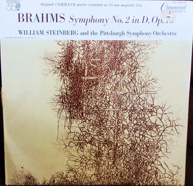 FACTORY SEALED ~ WILLIAM STEINBERG ~  - BRAHMS~SYMPHONY NO. 2 IN D OPUS 73~PITTSBURGH SYMPHONY ORCHESTRA ~  COMMAND CLASSICS CC 11002 SD (1961)