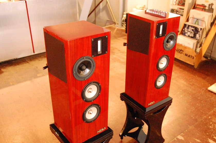 NOLA Speakers  Micro Grand Reference Rosewood (with stands)