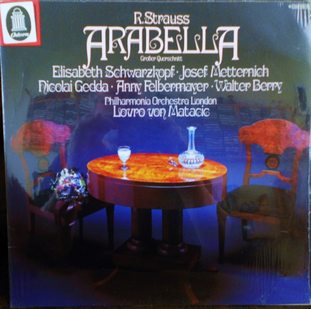 FACTORY SEALED ~ R. STRAUSS ~ LOVRO VON MATACIC ~  - ELISABETH SCHWARZKOPF ~ ARABELLA~LONDON PHILHARMONIC ORCHESTRA ODEON 1C 037 03 297 (1972)