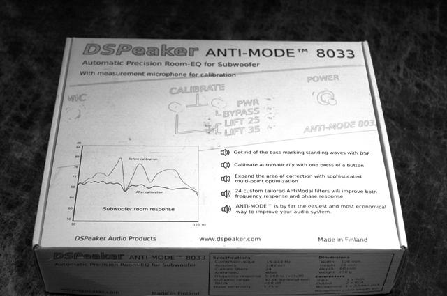 DSpeaker ANTI-MODE 8033  SUBWOOFER ROOM EQ