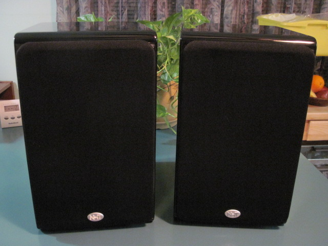 NHT SB-3 8 Ohm Speakers (one pair) immaculate condition.