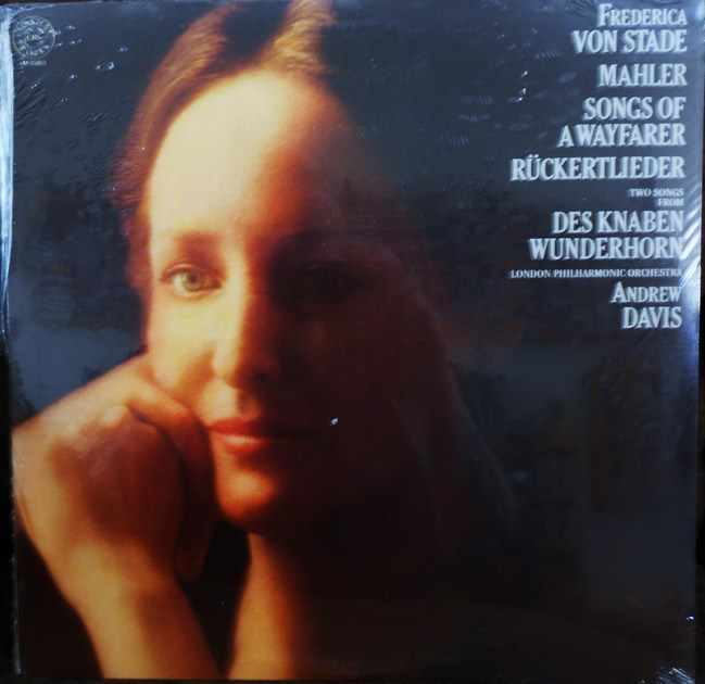 FACTORY SEALED ~ FREDERICA VON STADE ~ MAHLER ~  - SONGS OF A WAYFARER ~ RUCKERTLIEDER~ LONDON PHILHARMONIC ~  CBS MASTERWORKS M 35863 (1979)