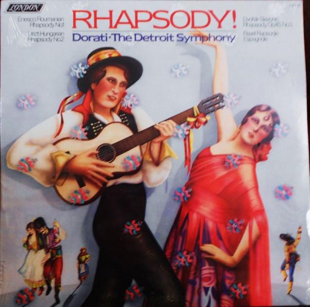 FACTORY SEALED ~ ANTAL DORATI ~  - RHAPSODY~THE DETROIT SYMPHONY ~  LONDON CS 7119 (1978)