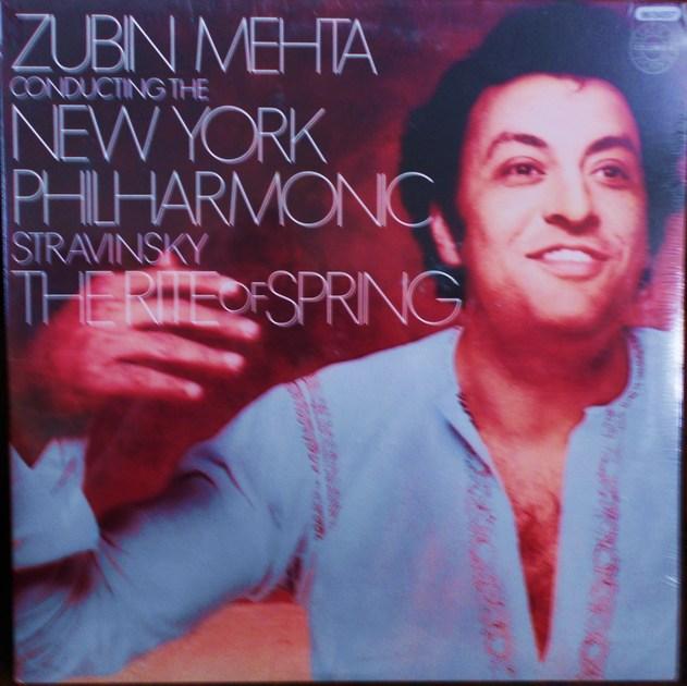 FACTORY SEALED ~ STRAVINSKY ~ ZUBIN MEHTA ~  - THE RITE OF SPRING ~ NEW YORK PHILHARMONIC ~  COLUMBIA M 34557 (1978)