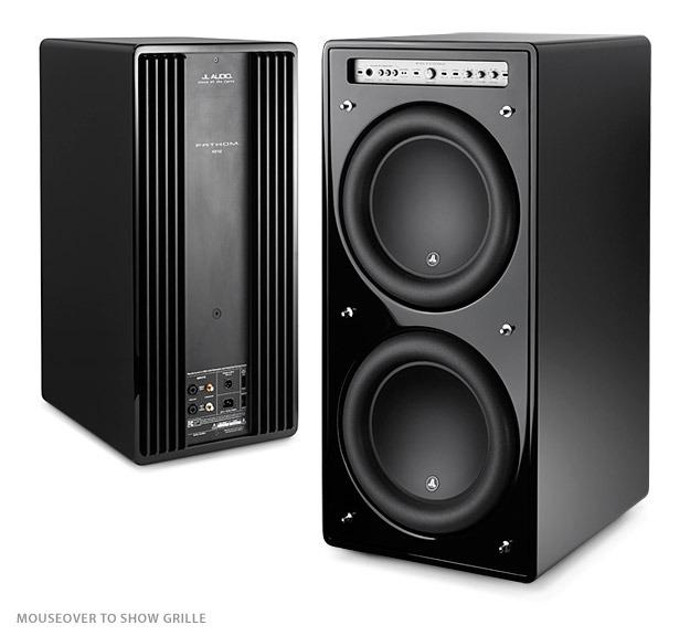 JL audio F212 dual 12in. 3000w sub-gloss blk