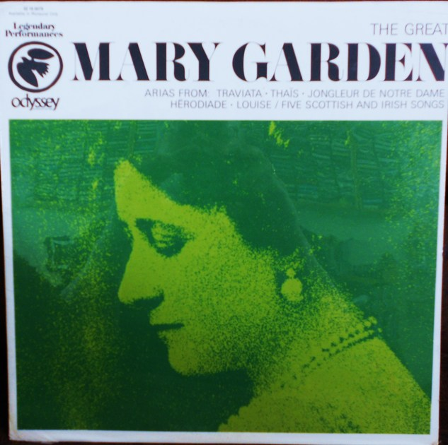 FACTORY SEALED ~ MARY GARDEN ~  - THE GREAT MARY GARDEN ~ ARIAS ~  ODYSSEY 32 16 0079 (1967)