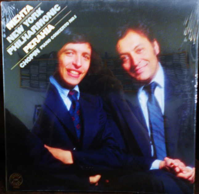 FACTORY SEALED ~ MURRAY PERAHIA ~ ZUBIN MEHTA ~  - CHOPIN~PIANO CONCERTO NO 1 IN E MINOR FOR PIANO & ORCHESTRA OP 11~NEW YORK PHILHARMONIC ~  CBS MATERWORKS 35893 (1980)