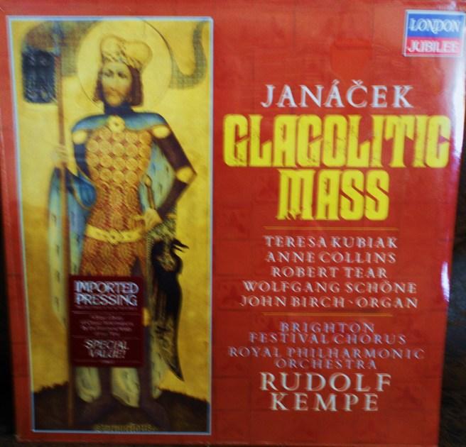 FACTORY SEALED ~ JANACEK ~ RUDOLF KEMPE ~ - GLAGOLITIC MASS~ROYAL PHILHARMONIC ORCHESTRA ~  LONDON 411 726 1 (1985)