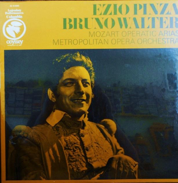 FACTORY SEALED ~ EZIO PINZA ~ BRUNO WALTER ~  - MOZART~OPERATIC ARIAS~METROPLITAN OPERA ORCHESTRA ~  ODYSSEY 32 16 0335 (1969)