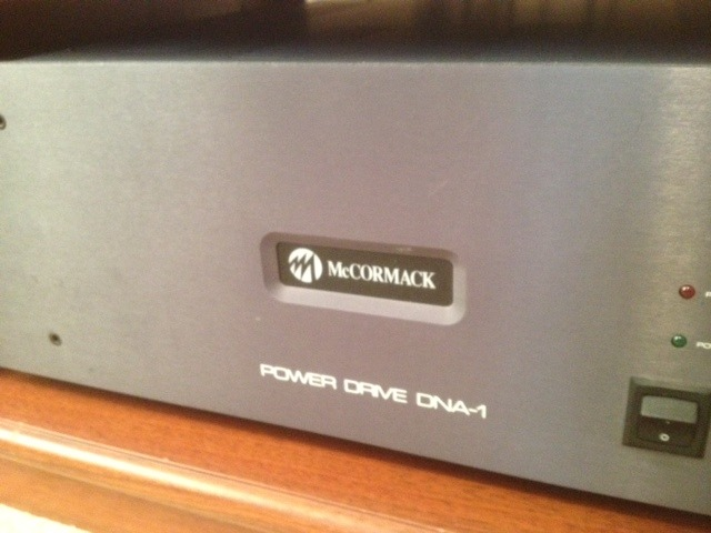 McCormack  Power Drive DNA-1