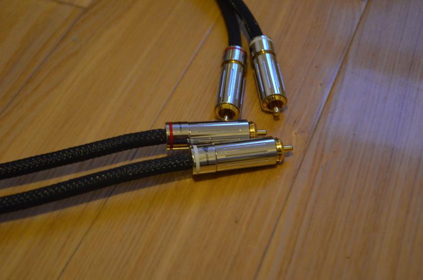 Siltech 25th Classic Anniversary 330i Pure Silver-Gold RCA 1m pair