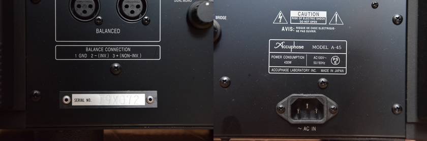 Accuphase A-45 2-channel amplifier MINT