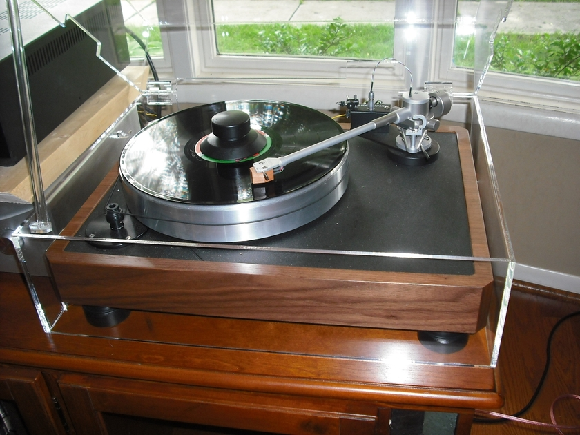 Stereo Squares 2 pc Hinged Dust Covers VPI Classic's & More Audio Jewelry that Protects