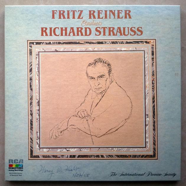 RCA Digital   REINER/STRAUSS - A Hero's Life, Don Quixote, Also sprach Zarathustra, Burlesque, ... 4-LP / NM