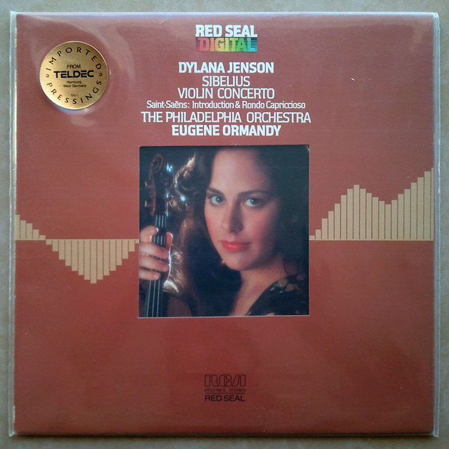 Sealed RCA Digital   DYLANA JENSON/ORMANDY/SIBELIUS - Violin Concerto / Audiophile German Pressings