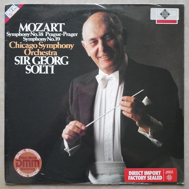 Sealed DECCA Digital | SOLTI/MOZART - Symphonies Nos. 38 & 39 / German Pressings