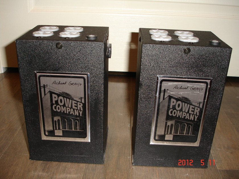 Richard Gray 400 s power conditioner