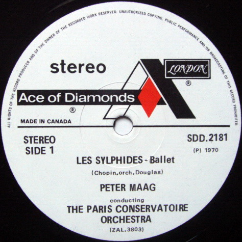 DECCA SDD / PETER MAAG, - Chopin Les Sylphides, NM!