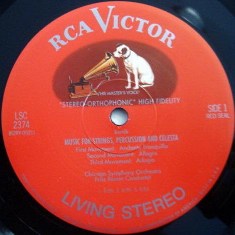★Audiophile 180g★ RCA-Classic Records /  - REINER, Bartok Music for Strings, Percussion & Celesta, TAS LP, MINT!
