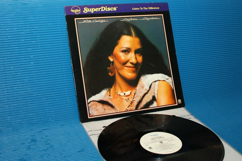 "RITA COOLIDGE - - ""Anytime Anywhere"" - Nautilus Super Disk 1981"