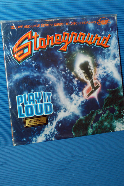 """STONEGROUND -  - """"Play It Loud"""" - Crystal Clear D-D 1979 German pressing Sealed"""