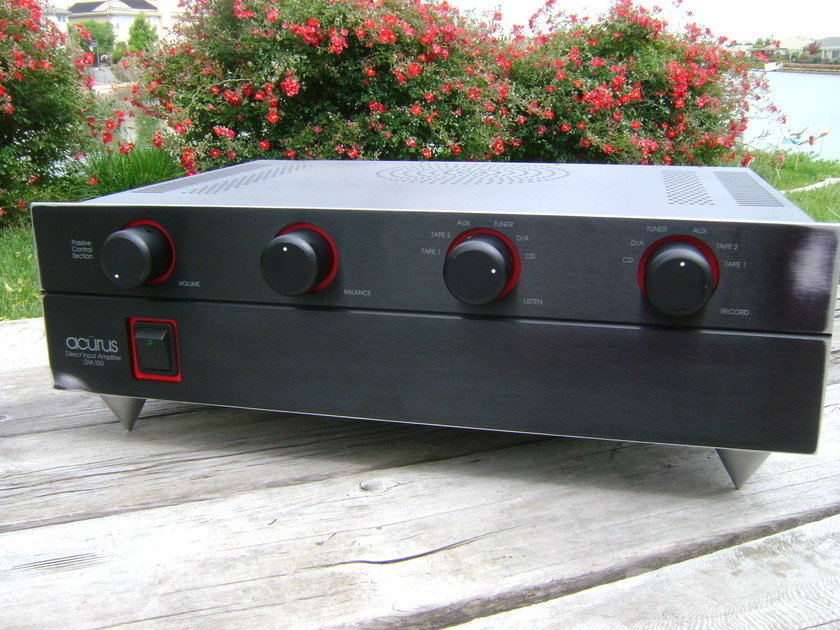 Acurus DIA 100 integrated stereo amplifier
